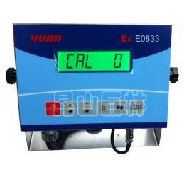 优宝本安防爆型E0833仪表 本安型防爆称重显示器 优宝防爆仪表