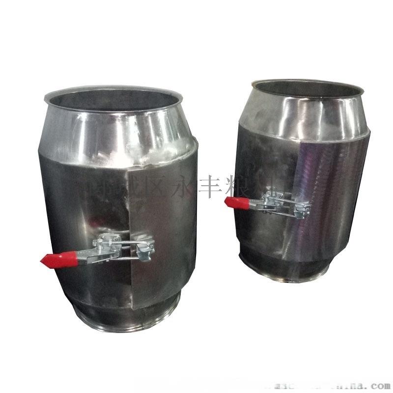 永豐 麪粉廠弱磁磁選設備TCXT不鏽鋼磁選器