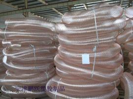 工业吸尘透明塑料软管TPU钢丝软管厂家