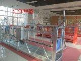 关于电动吊篮配件中悬吊平台和悬挂机构的验收