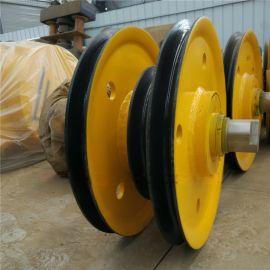 20T铸钢滑轮组,起重滑轮组及图纸材质