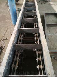 爬坡装车刮板输送机 牛粪输送用刮板机