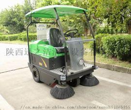 安康景区车站用大型电动扫地车 小区道路清扫车