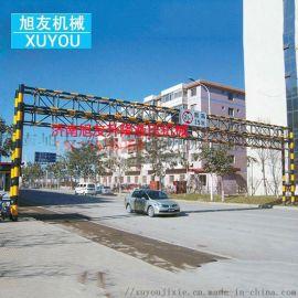升降式限高杆限高架电动龙门架公路限高杆智能升降杆