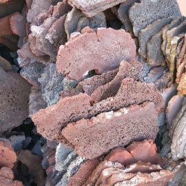 加工定做各种型号 红色灰色火山石板材
