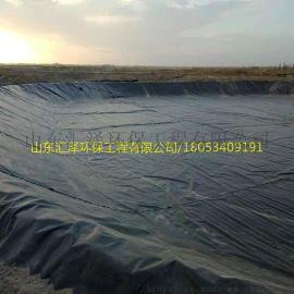HDPE防渗膜,养殖场沼气池黑膜,沼气池黑色塑料布