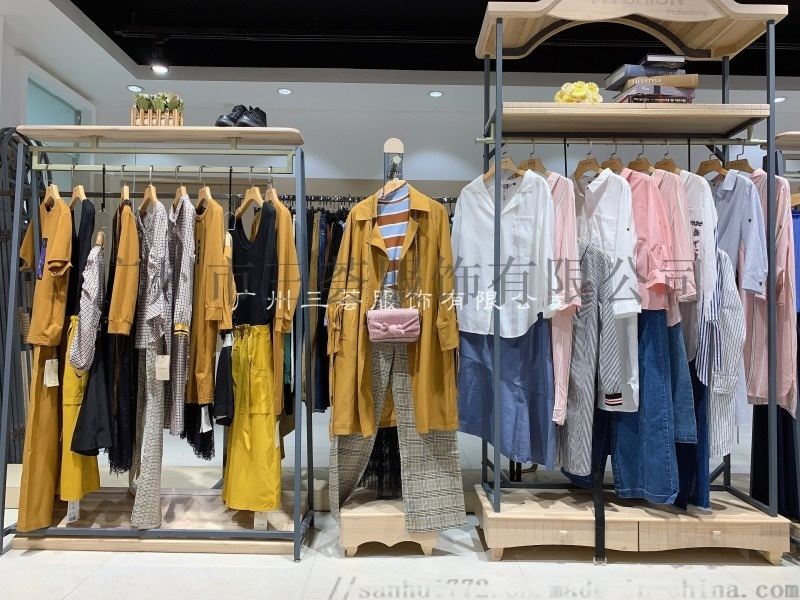 大码真丝女装【西子恋】连衣裙品牌折扣尾货
