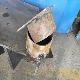 桥梁支座作用钢沙筒支座加工临时支座鑫归厂家