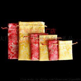 锦缎首饰袋锦囊小布袋**绒布单层中国风古风玉器