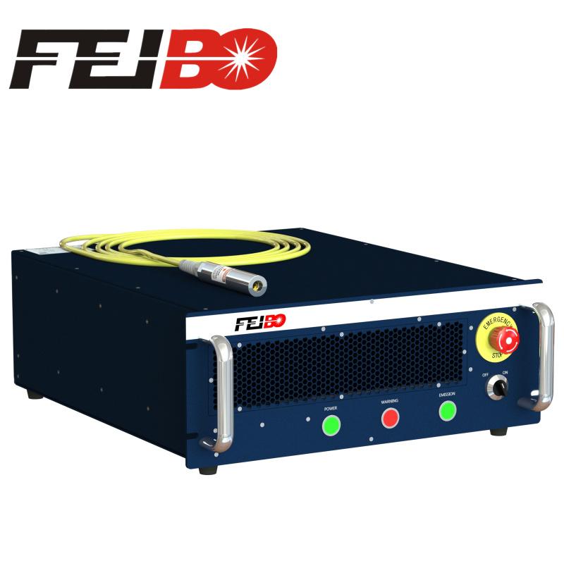 上海飞博激光低功率光纤激光器100w单模