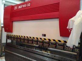 100吨数控折弯机梁发记伺服钣金机械不锈钢加工机床