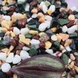 大同彩色石子供应   永顺五彩石米厂家
