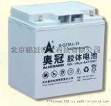 奧冠免維護蓄電池12V24AH太陽能專用