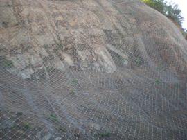 定制被动边坡防护网 浸塑防护网厂家批发被动边坡防护网拦石网