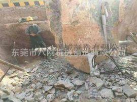 液压岩石胀裂设备工程岩石专业拆除