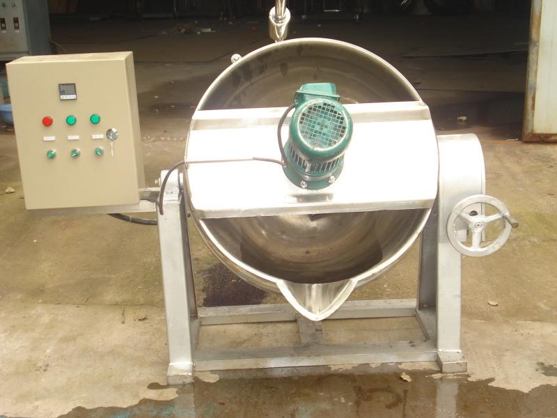 可控文鞋油膏搅拌夹层锅 燃气加热保温食品机械设备