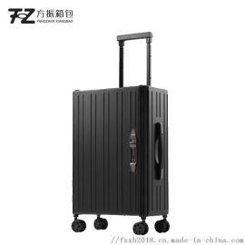 创新款可变形折叠行李箱 万向轮20寸密码登机箱