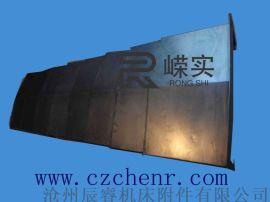 不锈钢伸缩式钢板防护罩 沧州嵘实钢板防护罩
