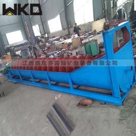 赣州石城高产量螺旋洗砂机 大型洗沙机生产视频