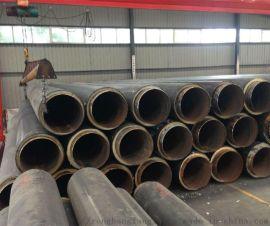 直埋热力保温管,直埋式聚氨酯热水保温管