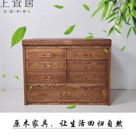 实木储物柜组合柜简易木质收纳柜柜类家具厂家直销