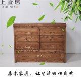 實木儲物櫃組合櫃簡易木質收納櫃櫃類傢俱廠家直銷