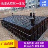 保定地埋水池箱泵一體化