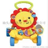 婴儿宝宝狮子学步车手推车