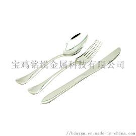 纯钛餐具SA钛勺钛叉钛筷子