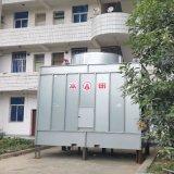 厂家直销低噪型BY-H-150T横流冷却塔 上海方形冷却塔厂家 凉水塔