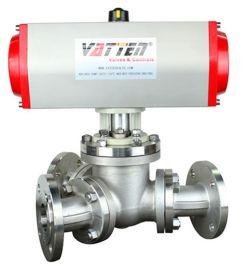 德国VATTENQ41F-16P 气动球阀中德合资上海工厂 气动三通不锈  阀