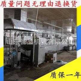 丸子生产线 鸡肉猪  肉丸成型蒸煮冷却连续式生产设备 按需定制
