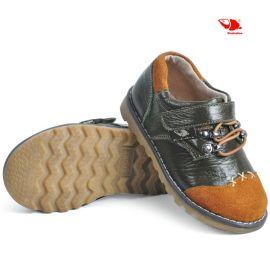 14春款皮鞋批发 新款  时尚单鞋 韩版单鞋 拼接全皮 防滑软底鞋