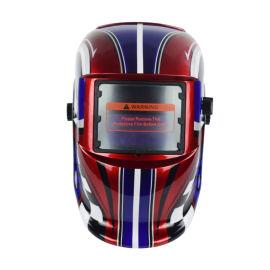 全脸防护电焊面罩太阳能变光