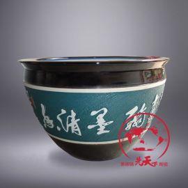 陶瓷鱼缸 批发陶瓷鱼缸 景德镇陶瓷鱼缸厂家