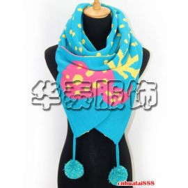 秋冬混纺围巾,晴纶混纺围巾披肩,针织混纺保暖围巾