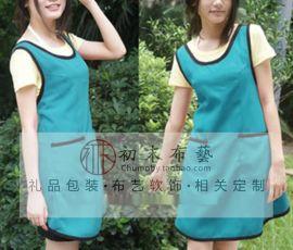 时尚卡通围裙防水防辐射围裙
