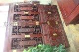 明清古典非洲酸枝木红酸枝办公桌写字台书柜组合红木办公桌电脑桌