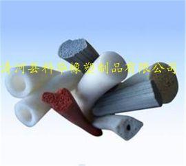 厂家供应 密封条硅胶 方形机械圆形电器发泡D型O型海绵V型门窗隔音密封条