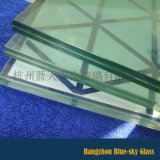 建筑用6+6双钢化夹层玻璃