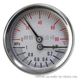 外殼不鏽鋼溫度壓力複合錶   TMG-SC