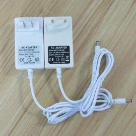 白色國標插牆式12V1.5A電源適配器18W 開關電源
