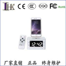 手机充电音箱_/ipad4底座 三星苹果手机充电音箱座充音响