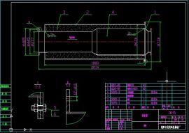ZK风机消音器CAD图纸
