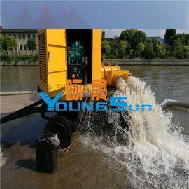 农田灌溉柴油机自吸泵组