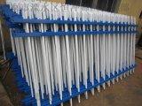 江苏市政园林 护栏 优质铁艺四横梁带圈锌钢护栏 护栏网 厂