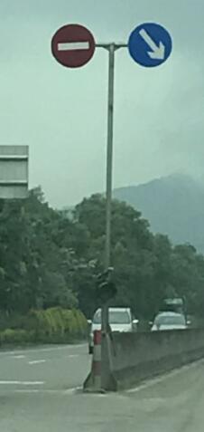 珠海道路标志牌666,道路停车场划线队伍老炮儿