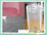 供应PVC透明夹网布透明网格布