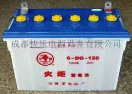 火炬6-DG-120电动三轮车蓄电池