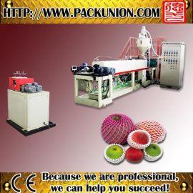 [统一供应]PE发泡机  发泡水果网套机生产线ce认证